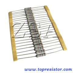 Controllable carbon film resistor