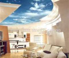 french stretch ceiling system