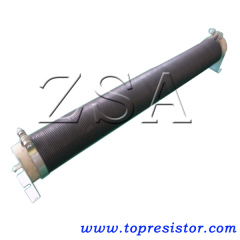 Ceramic Tube Wirewound Resistors with Mounting