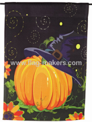 custom pumpkin garden flag