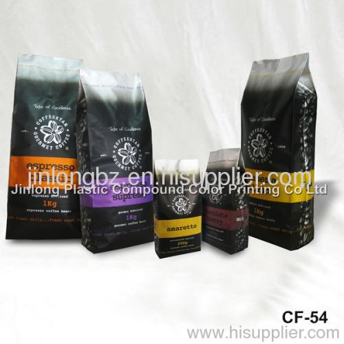 foil coffee packaging