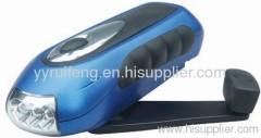 hand-cranked flashlight emergency flashlight