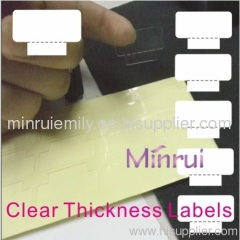 clear label stickers