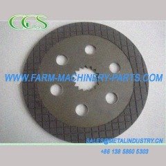 Baler friction plate