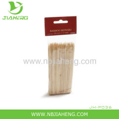 Bamboo natural barbecue skewer