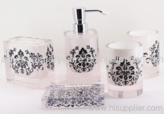 Resin Bathroom Accessories B98220