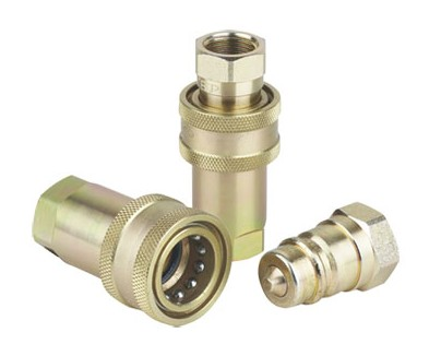 steel retractable hydraulic quick coupling