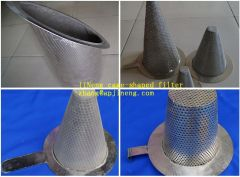 metal cone filter product