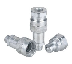 KZE-B Thread Locked Type Hydraulic Quick Coupler