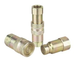 Steel Close Type Hydraulic Quick Coupling With Zinc Plated