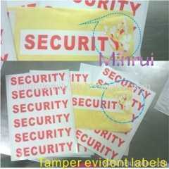 security seal stickers