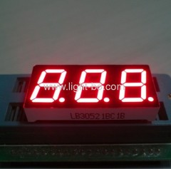 3 digit 0.52 inch 7 segment led display;0.52