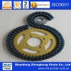 Motorcycle chain and sprocket sets
