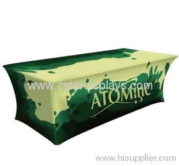 Full Color Table Cover / table shirt / table banner maker