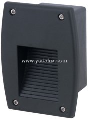 168 outdoor led wall recessed lanter