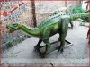 Decorative playground animatronic dinosaur