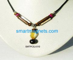 Acrylic ferrite magnetic pendant