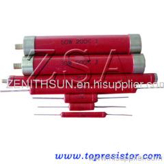 High Voltage Glaze Resistors