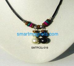 ferrite magnetic necklace pendant