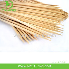 "10"" Wood Bamboo Skewers Sticks 100ct BBQ Shish Kabob"