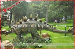 Animatronic dinosaur 6m long silicone rubber dinosaur for am