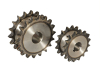 Duplex Platewheels For Two Single Roller Chains
