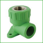 PP-R Female Thread Elbow With Disk Fitting