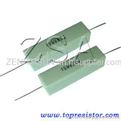 Fixed Wirewound Resistor in Cement Type