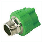 PPR Male Thread Adapter With Brass Insert Pipe Fittings