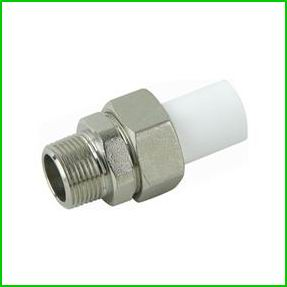 PPR Long Male Threaded Union Pipe Fittings With CE Certificate