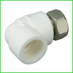 PPR Thread Union With Elbow Pipe Fitting