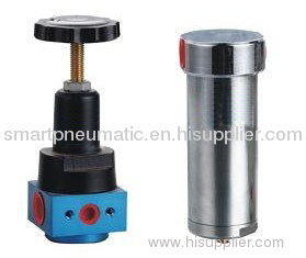 our high pressure Pneu Filter Regulator 35 bar with safety guard .