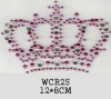 Hot fix motif in rhinestones,rhinestuds and nailheads, ITEM# WSY25
