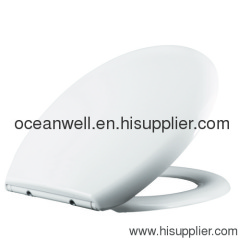 Soft Close Duroplast Toilet Seat Cover with Stainless Steel Hinge