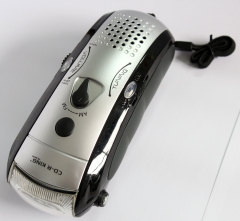 Dynamo Radio with flashlight and phone charger