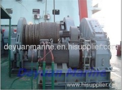 Φ62/64 Electric anchor windlass and mooring winch