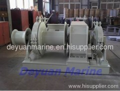 marine windlass mooring winch