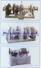 Φ76/78 Hydraulic anchor windlass and mooring winch