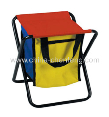 folding stools with cooler bags