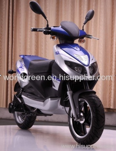 World Green electric scooter