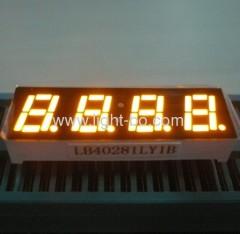 Afficheur à LED à 4 chiffres à quatre chiffres et à couleur orange Amang très brillant de 0,28 \