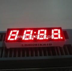 4 digit small 7 segment led digital clock displays;