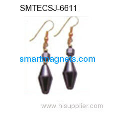 Fashion hematite magnetic earbob