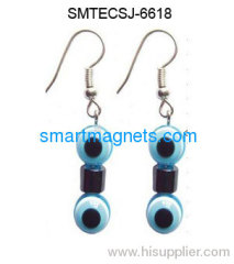 Hot sale hematite magnetic earbob