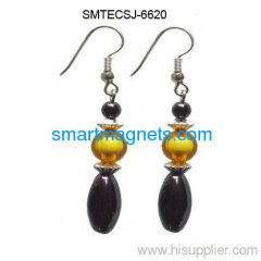Hot selling hematite magnetic earbob