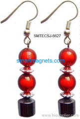 fashionable hematite magnetic earbob
