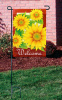 Custom Sunflower garden flag