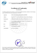 satellite multiswitch RoHS certificate