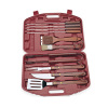 10pcs/set BBQ tools in plastic case
