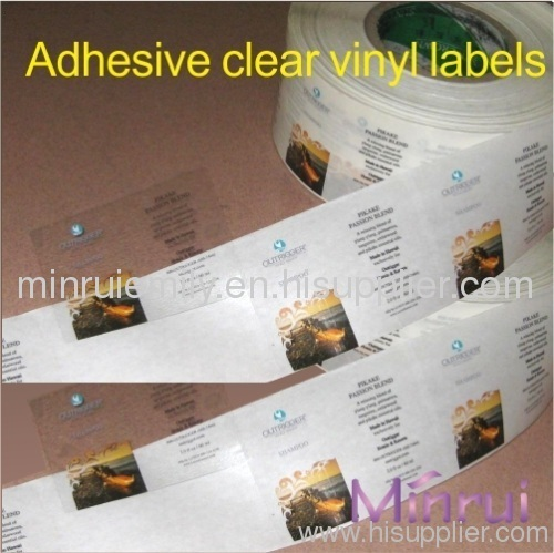 graphic relating to Clear Printable Labels for Glass identify customized crystal clear labels printing in opposition to China brand